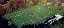 Farwell Field at Lake Forest College provides a perfect setting for a Contact Football Camp.