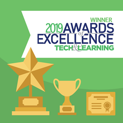 "ParentSquare wins ""Best Re-invention of a Legacy Technology"" from Tech & Learning's 2019 Awards of Excellence."