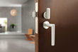 INOX debuts industry's first auto-latching, auto-locking mortise lock for sliding doors at KBIS 2020