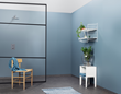 Fibo Wall Panel - Dusty Blue