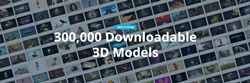 Sketchfab Reaches 300,000 Downloadable Models