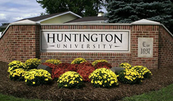 Huntington University in Huntington, Indiana, home of the Nike Running Camps this summer.