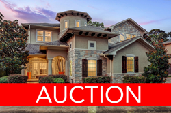 Luxury No-Reserve Auction of Woodway Pines in Houston, Texas on February 27, 2020
