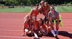 Williams College Nike Field Hockey campers
