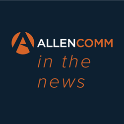 AllenComm wins vendor awards for custom content and gamification from Training Magazine Network.