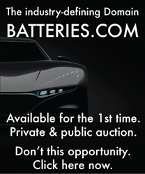 domain name batteries.com is for sale at auction by Brannans.com domain brokers