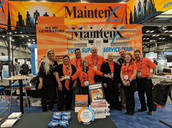 MaintenX team members are ready to discuss preventative and reactive maintenance with attendees at trade shows and conferences across the country.