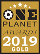 Zonar Wins Gold Recognition in the 4th Annual 2019 One Planet Awards