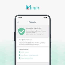 Cable Haunt notifications in the Minim app