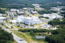 Image of NASA Goddard Space Flight Center campus