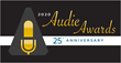 The 2020 Audie Awards® Gala will celebrate the Awards' 25th Anniversary on March 2.