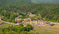 The Darlington School in North Georgia, home of the Nike North Georgia Running Camp