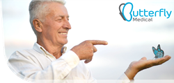 Butterfly Medical's non-surgical implant is transforming treatment for aging men suffering from enlarged prostate (BPH) symptoms.