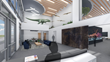 An interior rendering of Billing Productions' new headquarters, manufacturing center set to open in 2020 in Allen, Texas.