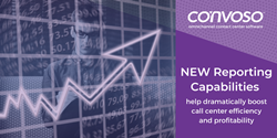 Convoso expands analytic features to provide previously unavailable insights for call center managers and owners, giving them tools to dramatically boost efficiency and profitability. The two key new reporting capabilities, which have been recently made available to existing customers, are the Lead Conversion Report and the Lead Penetration Status Report.