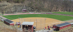 The fields at Lock Haven University, home of Nike Softball Camps this summer.