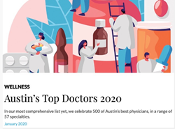 Dr. Buckingham Austin Monthly Top Doctor