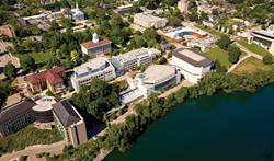 Lawrence University in Appleton, Wisconsin, home of a new Nike Running Camp.