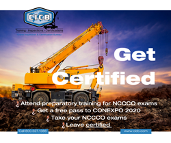 Get Certified at CONEXPO with CICB