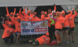"Stertil-Koni ""plungers"" totaled 28, doubling last year's turnout"