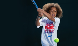 Nike Tennis Camps offers camps in 100 different locations in over 30 states, for both juniors and adults.