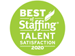 green 2020 Best of Staffing Award for Talent Satisfaction