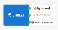 BirdEye Now Integrates with Acuity Scheduling, Lightspeed, and PerioVision in addition to 1,000+ Other Systems