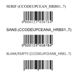 Leading Barcode Software creates barcodes using fonts on SQL Server T-SQL, .NET Core 3.0, and Blazor