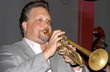 Todd Stoll playing trumpet