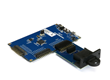 Datakey CryptoAuthentication™ memory tokens may be used with Microchip's ATSAMD21-XPRO development board via a special Datakey extension board.