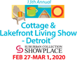 Get Ready for Summer at the Cottage & Lakefront Living Show Opening Thurs., Feb. 27 in Novi