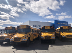 Three school districts in New Mexico to operate emissions-reducing, low-carbon, cost-saving alternatively fueled buses.