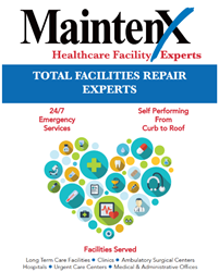 MaintenX Online is a one-stop shop for helping healthcare facilities with their curb-to-roof preventative and reactive maintenance services.