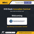 IBEX INDIA 2020 - Diamante Blockchain Steals the Show by Winning at DCB Bank Innovation Carnival