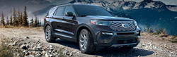 2020 Ford Explorer by mountain view