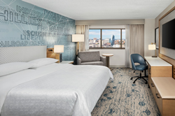Sheraton Philadelphia Downtown Renovated Guestroom