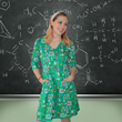 Science is awesome and this Chemistry Lab Rosalind Dress from Svaha is a lab full of fun! Proof that brainy is beautiful! Find it at www.svahausa.com.