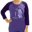 To the moon we go! Celebrate the life of the great NASA mathematician Katherine Johnson who helped launch the first men into space with this colorful raglan top available at www.svahausa.com.