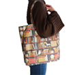 Svaha offers a host of STEAM-themed accessories to go with their stylishly smart fashions including this fantasy-inspired Librarian's Secret Chamber Canvas Tote Bag. For book lovers everywhere!