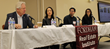 Panelists from left: John Gilbert, Andrea Jang, Omri Stone, Laura Patel