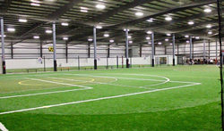 Sean Matteo directs this Nike Soccer Camp at the Total Turf Experience Complex.