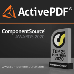 ComponentSource Award with ActivePDF logo