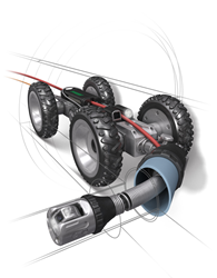 New Inspection Crawler Makes Finding Gas Line Cross Bores in Sewers Faster, More Accurate