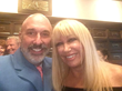 Sharing the stage with Suzanne Somers at Harvard Club of Boston