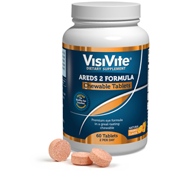 VisiVite AREDS 2 Chewable Tablets bottle