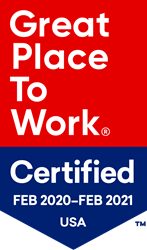 BluSky Great Place to Work Badge