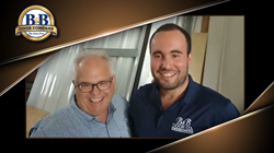Celso Balan (left), President of B&B Door Company, with his son Danny Balan.