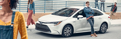2020 Toyota Corolla Hybrid parked on a street