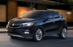 An image of a 2019 Buick Encore Sport Touring, which is a vehicle included in the Thompson Chevrolet St. Patrick's Special.