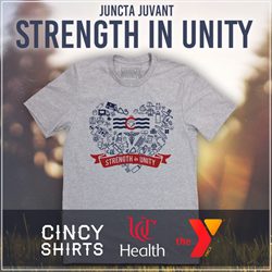 Cincy Shirts in partnership with UC Health to benefit YMCA